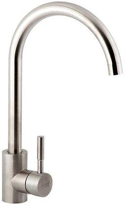 Смеситель для кухни на гайке AquaKratos АК66903 нерж.