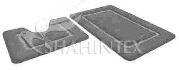 Набор ковриков д/в SHAHINTEX SOFT 60*90+60*50 черный жемчуг