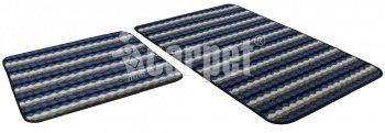 Набор ковриков PP LOOP LOOP icarpet 50*80+50*40 синий (56)