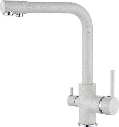 Смеситель для кухни со встроенным фильтром под питьевую воду Ledeme L4055W-3
