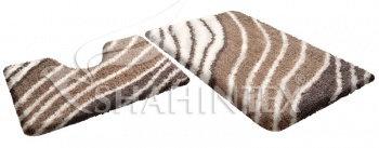 Набор ковриков д/в SHAHINTEX SOFT multicolor 60*90+60*50 оникс