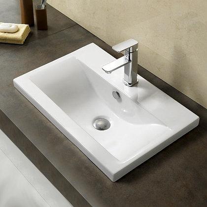 Раковина для ванной врезная (800-9393) (80)