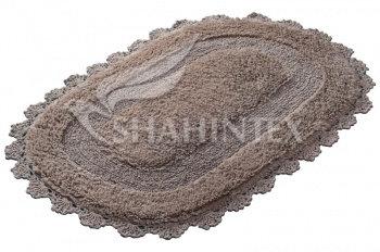 Коврик SHAHINTEX ZEFIR Z001 50*80 кофе с молоком (55)