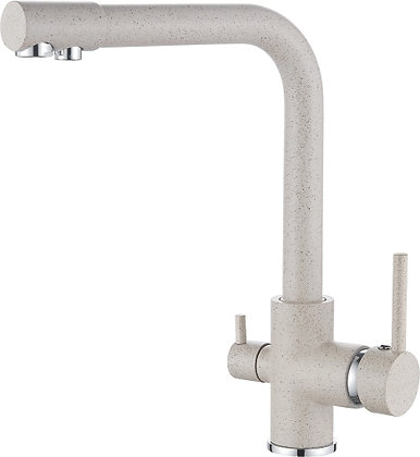 Смеситель для кухни со встроенным фильтром под питьевую воду Ledeme L4055K-3