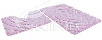Набор ковриков SHAHINTEX РREMIUM SH P004 60*100+60*50 розовый (64)