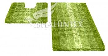 Набор ковриков д/в SHAHINTEX MULTIMAKARON 60*90+60*50 зеленый