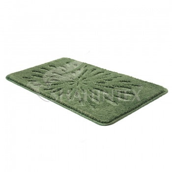 Коврик SHAHINTEX РР LUX 50*80 зеленый (52)