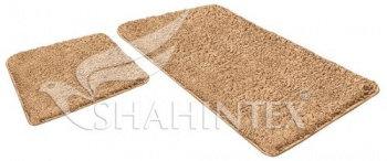 Набор ковриков SHAHINTEX LAMA 60*90+60*50 бисквитный (7)