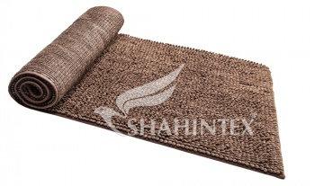 Коврик SHAHINTEX MULTIMAKARON 70*140 шоколадный