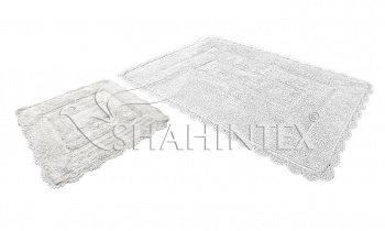 Набор ковриков SHAHINTEX HEAVEN SH H001 60*100+60*50 белый (59)