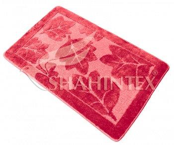 Коврик д/в SHAHINTEX РР 50*80 розовый (64)
