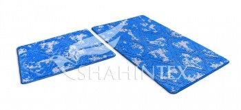 Набор ковриков SHAHINTEX VINTAGE SH V002 60*100+60*50 синий (56)