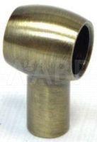 18110 Держатель рейлинга традиция, бронза