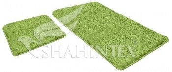 Набор ковриков SHAHINTEX LAMA 60*90+60*50 салатный (58)