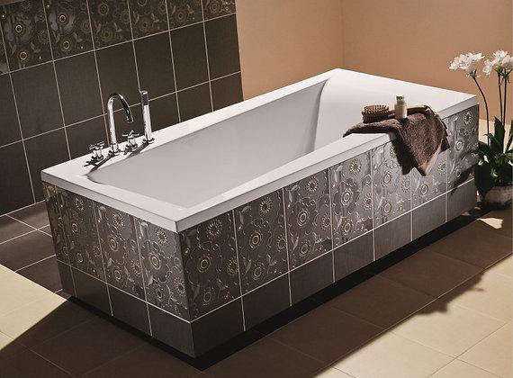 Ванна прямоугольная LORENA 160x70, ультра белый