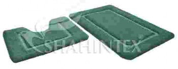 Набор ковриков д/в SHAHINTEX SOFT 60*90+60*50 аквамарин