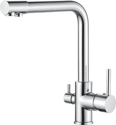 Смеситель для кухни со встроенным фильтром под питьевую воду Ledeme L4055-3