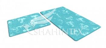 Набор ковриков SHAHINTEX VINTAGE SH V002 60*100+60*50 мятный (72)
