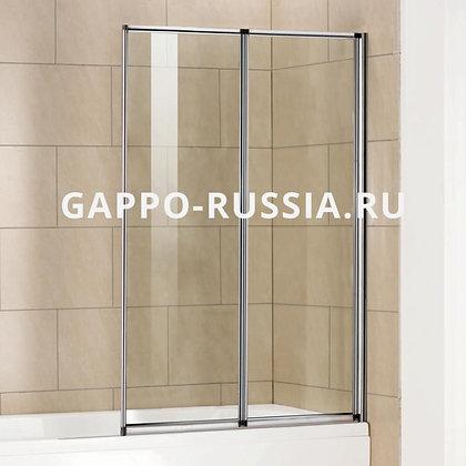 Шторка для ванны Gappo G401.1.80, 80*140