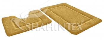 Набор ковриков д/в SHAHINTEX SOFT 60*90+60*50 тигровый глаз