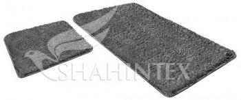 Набор ковриков SHAHINTEX LAMA 60*90+60*50 серый (50)