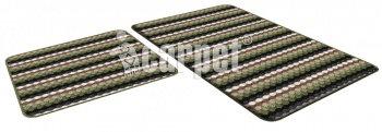 Набор ковриков PP LOOP LOOP icarpet 50*80+50*40 зеленый (52)