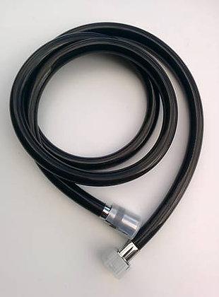 Шланг для душа нейлон AKs-273 Черный AquaKratos 150 см
