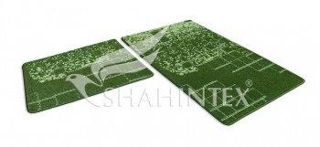 Набор ковриков SHAHINTEX VINTAGE SH V001 60*100+60*50 зеленый (52)