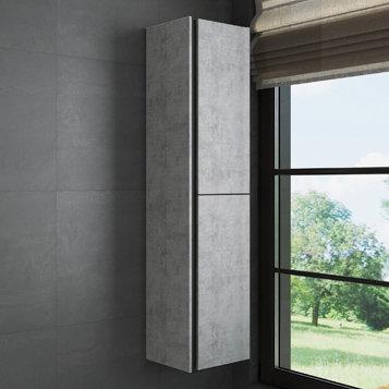"Шкаф-колонна ""Эдинбург-40"" бетон светлый"