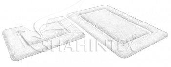 Набор ковриков д/в SHAHINTEX SOFT 60*90+60*50 горный хрусталь
