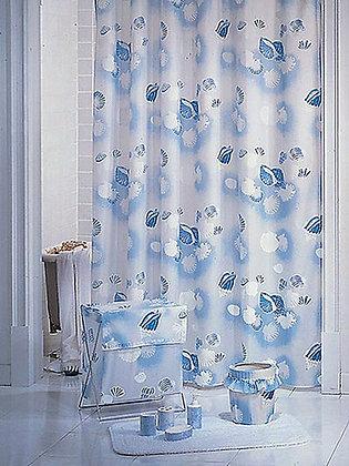 Штора для ванн BATH (Sea Snail) голубой 180х180 (2119/0-N)