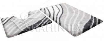 Набор ковриков д/в SHAHINTEX SOFT multicolor 60*90+60*50 перламутр