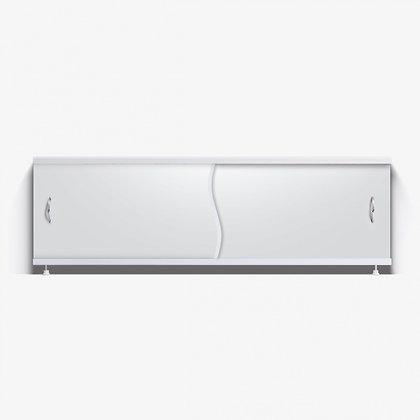 """Экран под ванну """"Премьер"""" с алюм. рамой 1,7 м белый"""