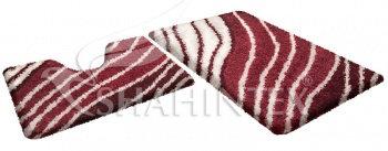 Набор ковриков д/в SHAHINTEX SOFT multicolor 60*90+60*50 гранат