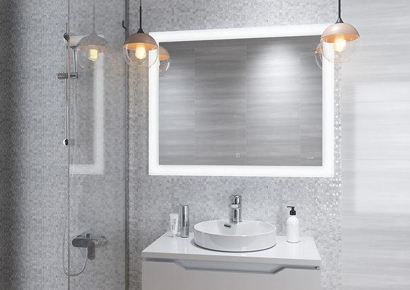 Зеркало LED 030 design 80*60, с подсветкой, антизапотевание