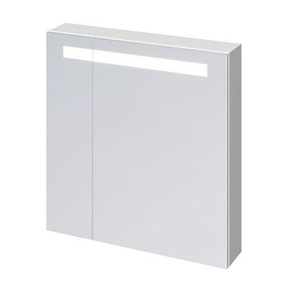 Зеркало-шкафчик:  MELAR 70 c подсветкой,  белый