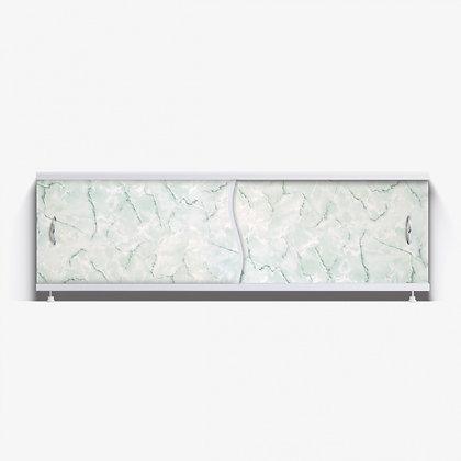 """Экран под ванну """"Премьер"""" с алюм. рамой 1,7 м (29- зел. мрамор)"""