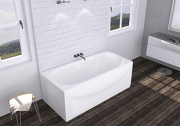 Акриловая ванна Domani-Spa Classic 160×70
