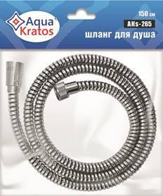 Шланг для душа в силиконовой оплетке 360гр AquaKratos AKs-265 150 см