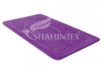 Коврик д/в SHAHINTEX ЭКО 60*90 фиолетовый (61)