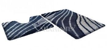 Набор ковриков д/в SHAHINTEX SOFT multicolor 60*90+60*50 серый агат