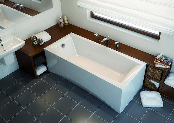 Ванна прямоугольная VIRGO 180x80, белый