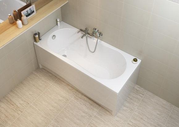 Ванна прямоугольная NIKE 170x70, ультра белый