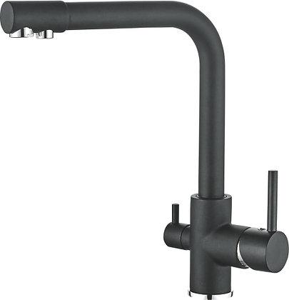 Смеситель для кухни со встроенным фильтром под питьевую воду Ledeme L4055B-3