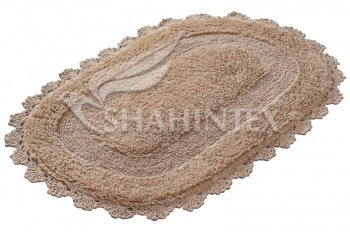 Коврик SHAHINTEX ZEFIR Z001 50*80 золотой (9)