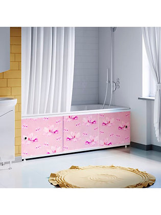 "Экран под ванну ""Оптима DECOR"" 1,7 м пластик (033Н Магнолия)"