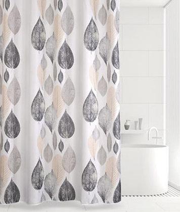 Штора для ванн BATH Leaf Story (беж/серый) 180х180 (ch21261)