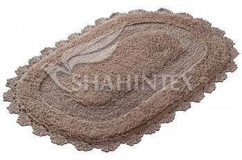 Коврик SHAHINTEX ZEFIR Z001 50*80 бисквитный (7)