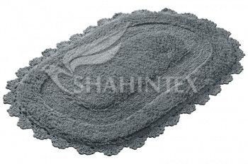 Коврик SHAHINTEX ZEFIR Z001 50*80 серый (50)