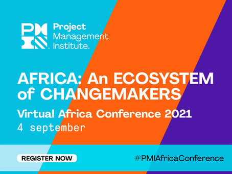 PMI Africa Conference 2021 & Discounted PMI Membership offered!